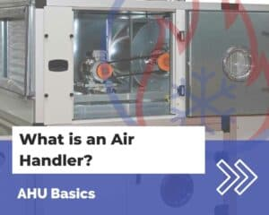 air handler with fan