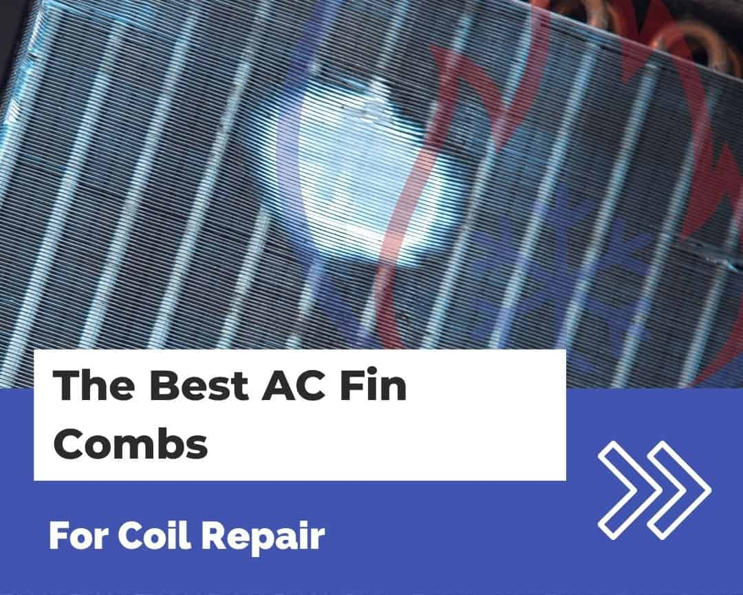 AC coil that needs a fin comb