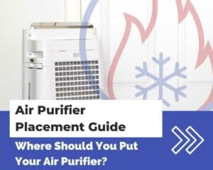 Air purifier placement guide