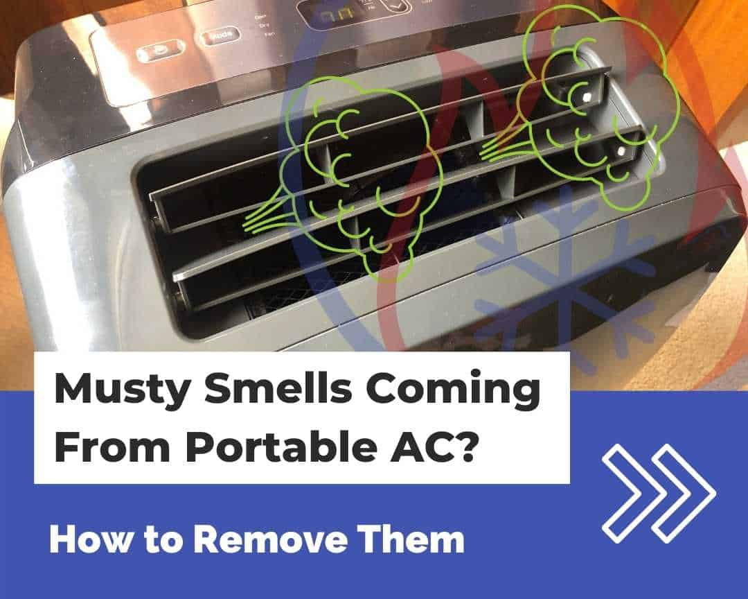 How to remove musty smells from your portable AC